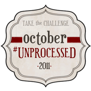 October Unprocessed 2011 Logo